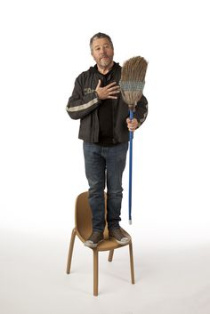 Necessary #071. Broom Chair / Milan Design Week