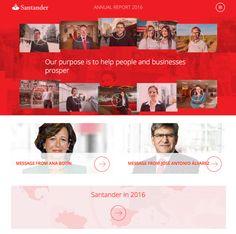 Santander 2016 Annual Report now online: the easiest way to get to know Banco Santander http://bsan.es/2nzl14y (04/04/2017)