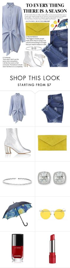 """""""Glasses by LMNT"""" by anarita11 ❤ liked on Polyvore featuring Essie, Anja, Proenza Schouler, Suzanne Kalan, Frederic Sage, LMNT, Chanel and Rimmel"""