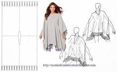O poncho é uma peça de roupa muito popular na América Latina. Ele é muito usado na região dos andes e tem-se popularizado um pouco por todo um mundo princi