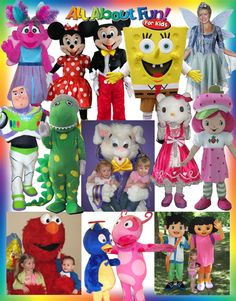 We have over 75 costumed characters to choose from. Surprise your birthday child with their favorite guest of honor, draw customers to your business, or add some fun to your community event.