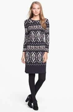 Tory Burch 'Rossella' Silk Shift Dress available at #Nordstrom