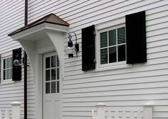 home entrance overhangs - Google Search