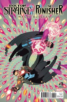 Marvel - Doctor Strange/Punisher: Magic Bullets #3 Jamie McKelvie Variant Cover