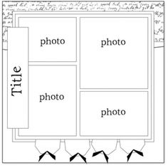 Source for Scrapbooking Layout Sketches