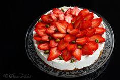 Un dejeuner de soleil: Cheesecake sans cuisson au mascarpone et aux frais...