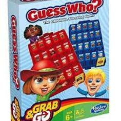 Buy Grab And Go Guess Who Board Game: Grab And Go, Games, Merchandise Online Now at the Australian based Sanity Movie Store. Wooden Dice, Wooden Boxes, Go Game, Version Francaise, Guessing Games, Travel Toys, Speech Therapy Activities, 8 Year Olds, Toys Shop
