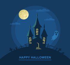 Illustrator Tutorial: Create a Bootiful Haunted House Halloween Vector Background! | By Iaroslav Lazunov on vectips.com | #illustrator #tutorial