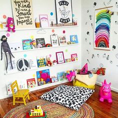 7 great high colour kids zones nooshloves cuarto tais for Cuarto de zanty ferry