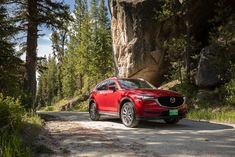 Check out our latest Mazda models that we love like the 2018 Mazda and the 2018 If you'd like to take a test drive stop in today! Mazda Cars, Suv For Sale, Head Up Display, High Beam, Brake Rotors, Grand Tour, Fuel Economy, Driving Test, The Struts