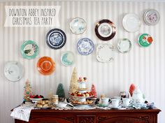 Downton Abbey Inspired Christmas Tea Party