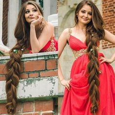 👑Real Life Rapunzel👑 🇷🇺Russia 📷See all post 👉 📋😱The real rapunzel letting her hair down 😍 Beautiful Braids, Beautiful Long Hair, Gorgeous Hair, Pretty Hairstyles, Braided Hairstyles, Long Brunette, Really Long Hair, Braids For Long Hair, Hair Photo
