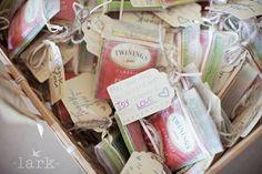 bridal tea party favors | Favors for a Bridal Shower Tea Party! | wedding