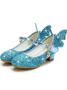 These are literally the cutest girls shoes we've ever seen! Available in 4 colors in little girls size - big girls size Please reference measurements below: Age Shoe Size Heel to Toe(in inches) Heel to Toe(cm) Toddler 1 - 4 Years 10 Little Kid Years 11 12 Cute Girl Shoes, Flower Girl Shoes, Little Girl Shoes, Sparkly Shoes, Glitter Shoes, Silver Shoes, Pink Sparkly, Blue Flats, Blue Heels