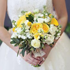 Yellow Bouquet // photo by: Arden Prucha Jenkins // Bridal Bouquet: Central Market