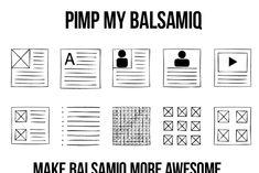 Pimp My Balsamiq ~ Wireframe UI Kits ~ Creative Market Photoshop Cs5, Wireframe, Ui Kit, Photography Website, Technology Logo, Icon Set, Mockup, How To Draw Hands, Graphic Design
