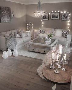42 secret weapon for modern house design interior living rooms decorating ideas 6 - Home Interior Design - Glam Living Room, Living Room Decor Cozy, Elegant Living Room, Interior Design Living Room, Decor Room, Living Room Goals, Living Room With Grey Walls, Wall Decor, Neutral Living Rooms