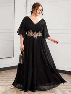 Modern Hijab Fashion, Indian Fashion Dresses, Abaya Fashion, Plus Size Dresses, Sexy Dresses, Plus Size Outfits, Prom Dresses, Formal Dresses, Maxi Dress With Sleeves