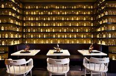 SoBou Cocktail Bar & Restaurant @ the W French Quarter. New Orleans. Hotel W, Restaurant Hotel, Fondue Restaurant, Restaurant Lighting, Hotel Lobby, New Orleans Hotels, Orleans Restaurants, New Orleans French Quarter, Drink Bar