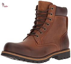 Timberland Rugged WP_Rugged WP_Rugged 6 in Plain Toe WP, Herren Kurzschaft Stiefel, Braun (Copper Roughcut WP), 40 EU - Timberland schuhe (*Partner-Link) Rugged Style, Style Brut, Men's Shoes, Shoe Boots, Mens Derby Shoes, Timberlands, Timberland Mens, Timberland Earthkeepers, Lace Up Ankle Boots