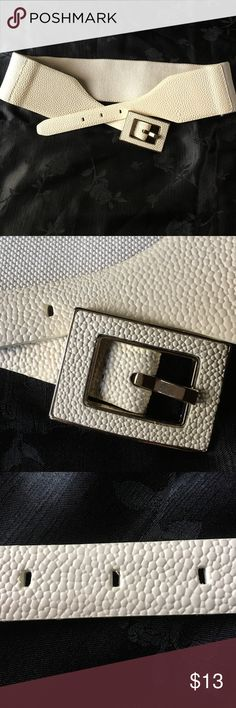"NWOT. Vince Camuto Belt Never used Leather stretch belt.  L=33"". Vince Camuto Accessories Belts"