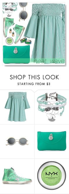 """""""Heat wave"""" by simona-altobelli ❤ liked on Polyvore featuring Hill & Friends, Golden Goose, Banana Republic, heatwave and polyvorecontest"""