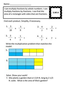 Fraction 5th Grade Review