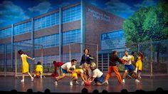 A peek at the set #design of #Tony Award-winning #musical #Hairspray