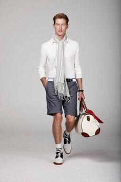 """Hackett London presenta su colección dedicada al """"Gentleman Viajero"""" para la temporada de verano de 2012.     #moda #hackett #hackettlondon"""
