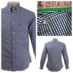The Paul & Shark Yachting Paul & Shark Check Blue Tailored Shirt