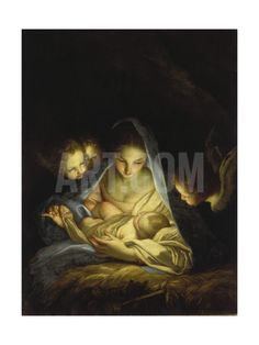 Mary and the Infant Christ Giclee Print by Carlo Maratti at Art.com