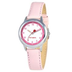 Red-Balloon-Kids-W000196-Stainless-Steel-Watch-with-Leather-Band