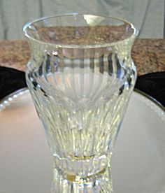 Baccarat crystal vase for sale at More Than McCoy on TIAS