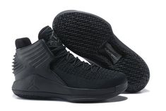 ce6ab9419816 Men On sale Nike Air Jordan 32 XXXII PF Rosso Corsa All Black AJ32  AH1253-010