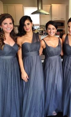 Jenny Yoo Annabelle Convertible Tulle Column Dress: buy this dress for a fraction of the salon price on PreOwnedWeddingDresses.com