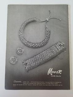 1953 Monet Master jewelry Cassandra beauty of Orient jewelry ad | eBay