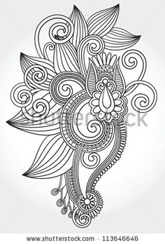 Google Image Result for http://image.shutterstock.com/display_pic_with_logo/701386/113646646/stock-vector-black-and-white-original-hand-draw-line-art-ornate-flower-design-ukrainian-traditional-style-113646646.jpg