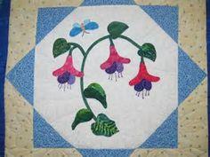 Image result for Flower Applique Quilts
