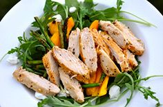 This recipe takes the concept of chicken salad to a whole new level. Check it out for the a nice hearty lunch.