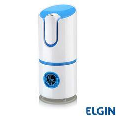 Umidificador de Ar Digital inteligente da Elgin: ele mede a umidade do ar, e controla para o nível que você quiser