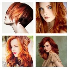 copper red hair - Google Search