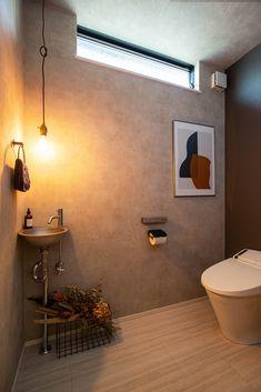 Small Toilet Room, Wc Design, Fashion Room, Corner Bathtub, Bad, Wall Lights, Bathroom, Interior, Rest Room