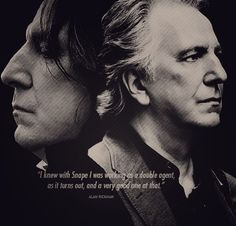 Alan Rickman talking about the part of Severus Snape