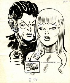 I MIEI SOGNI D'ANARCHIA - Calabria Anarchica: Caniff - Two women  Artist: Milton Caniff (Pencill...