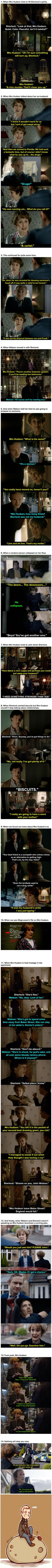 "Here Is Undeniable Proof That Mrs Hudson Is The Best Thing About ""Sherlock"""