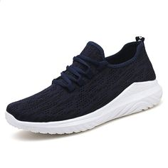 Pria Sepatu Kasual Anyaman Bernapas Laki-laki Sepatu Tenis Masculino Sepatu  Zapatos Hombre Sapatos Luar Sepatu Sneakers Men37-41 f36bfe55e1