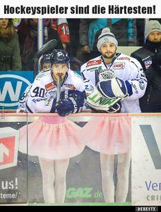Hockeyspieler sind die Härtesten!.. | Lustige Bilder, Sprüche, Witze, echt lustig