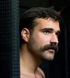 The eyes.....and stache have it!