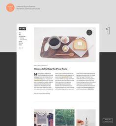 Premium WordPress Theme Moka by Elmastudio