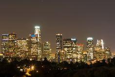 LA Downtown by night
